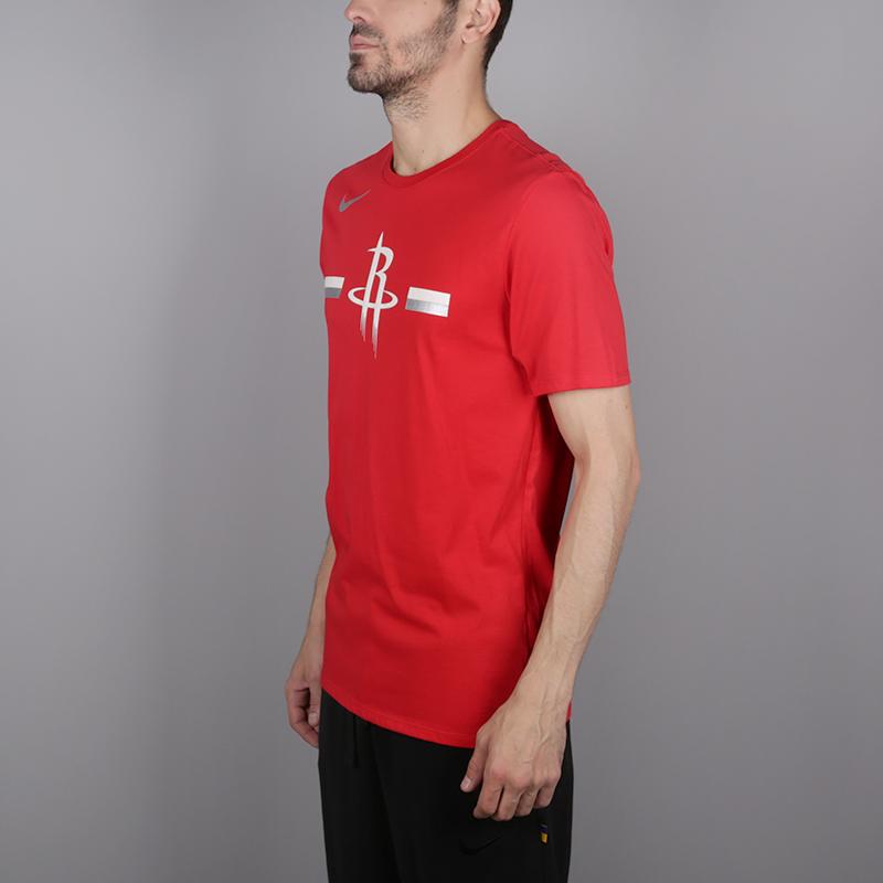 мужскую красную  футболка nike rockets 933525-657 - цена, описание, фото 3