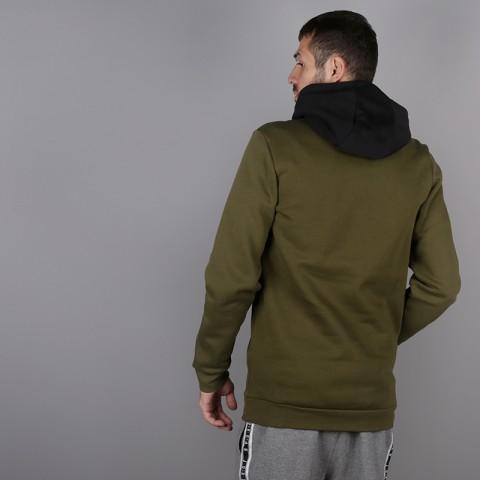 мужскую зелёную  толстовка jordan jumpman air fleece AA1451-395 - цена, описание, фото 3