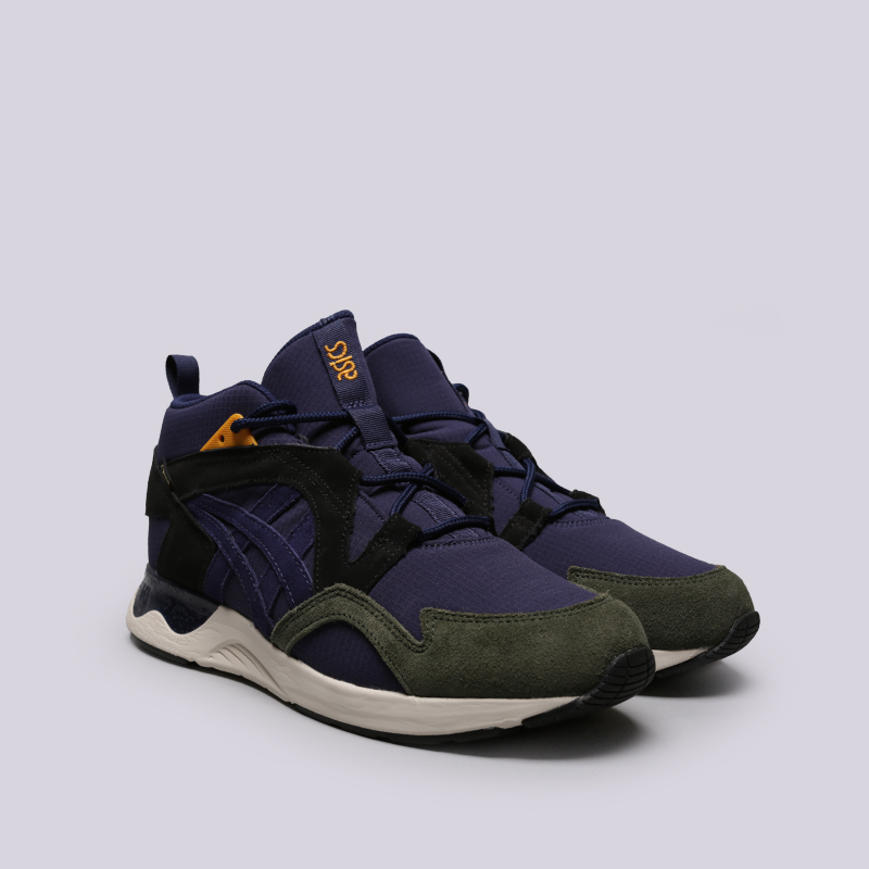 мужские фиолетовые  кроссовки asics tiger gel-lyte v sanze mt g-tx 1193A050-400 - цена, описание, фото 3