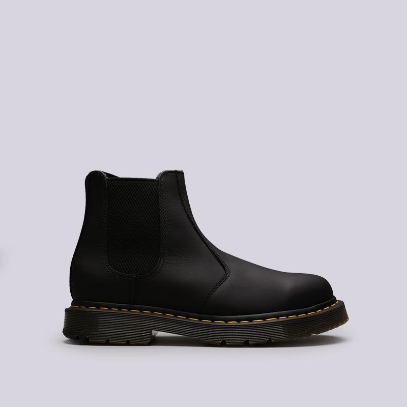 чёрные  ботинки dr. martens snowplow wp 24040001 - цена, описание, фото 1
