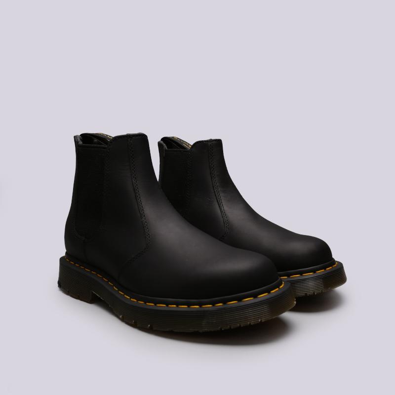 чёрные  ботинки dr. martens snowplow wp 24040001 - цена, описание, фото 3