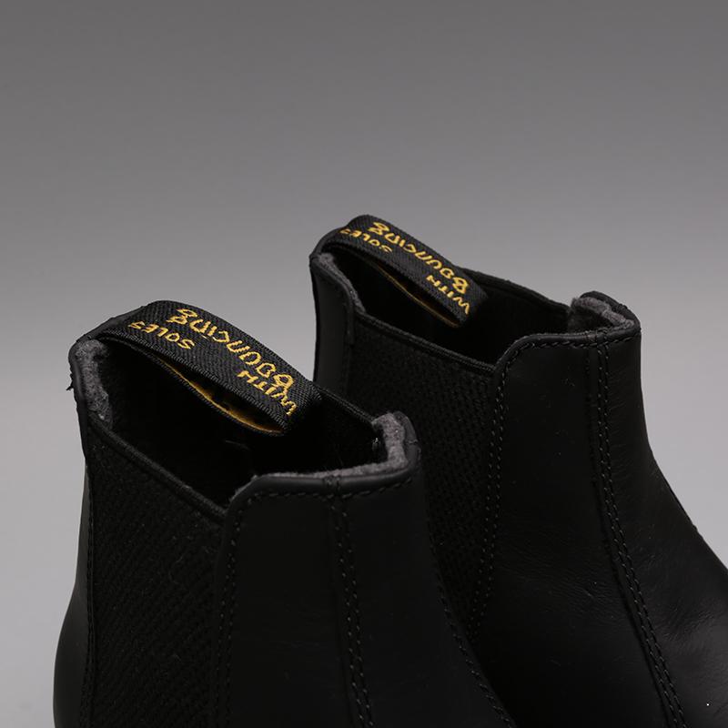 чёрные  ботинки dr. martens snowplow wp 24040001 - цена, описание, фото 6