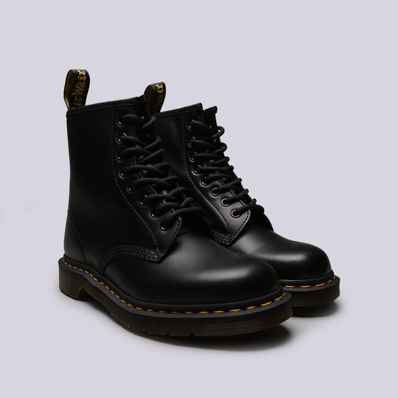 чёрные  ботинки dr. martens smooth 10072004 - цена, описание, фото 3