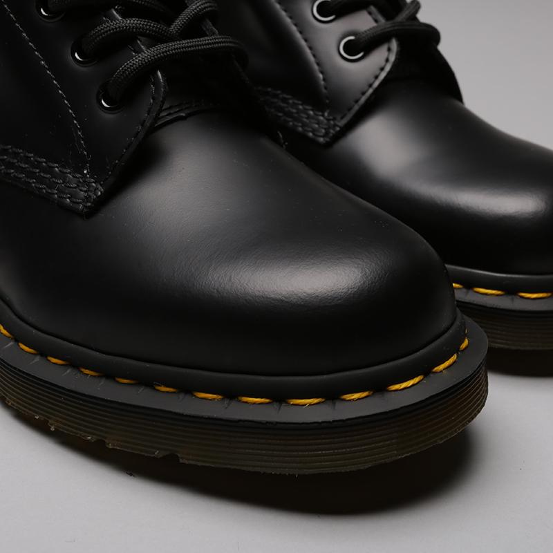 чёрные  ботинки dr. martens smooth 10072004 - цена, описание, фото 5