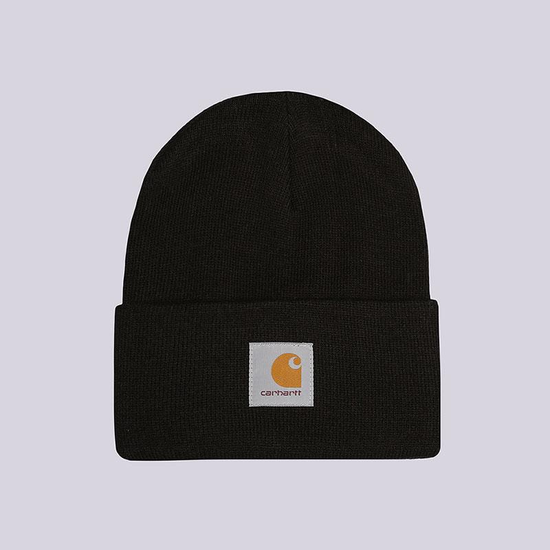 Шапка Carhartt WIP Acrylic Watch Hat (I020222-black) купить по цене 2950  руб в интернет-магазине Streetball