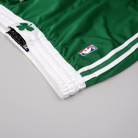мужские зелёные  шорты nike boston celtics icon edition swingman AJ5587-312 - цена, описание, фото 3