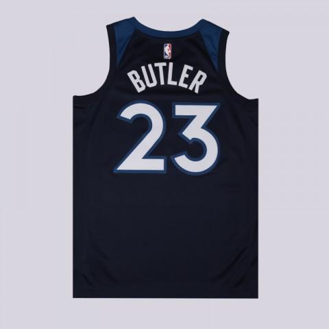 мужскую синюю  майку nike jimmy butler icon edition swingman jersey 864491-425 - цена, описание, фото 2