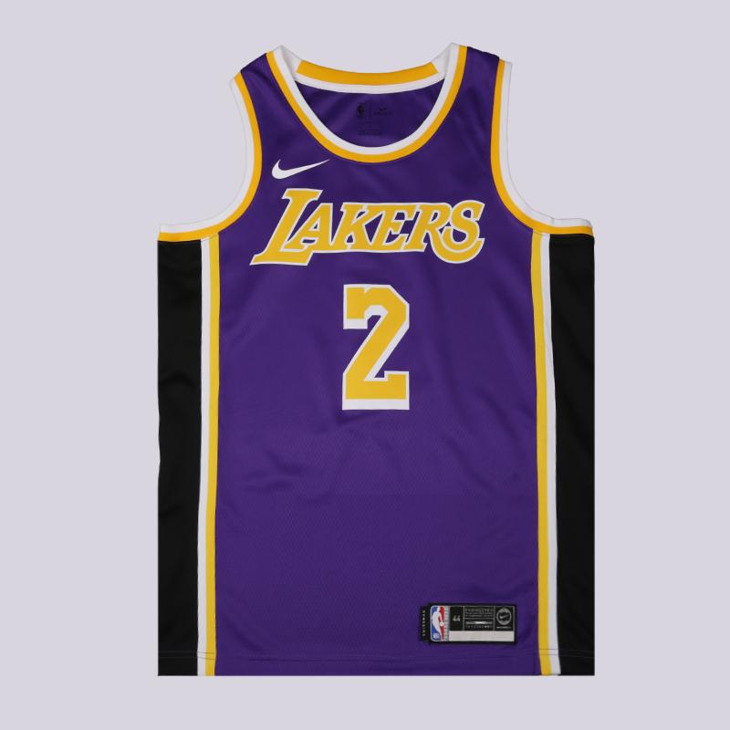 мужскую фиолетовую  майку nike lonzo ball statement edition swingman jersey AA7097-504 - цена, описание, фото 1