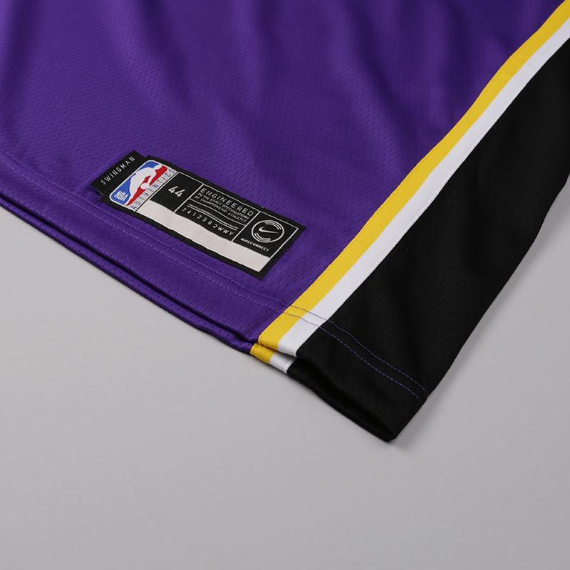 мужскую фиолетовую  майку nike lonzo ball statement edition swingman jersey AA7097-504 - цена, описание, фото 3