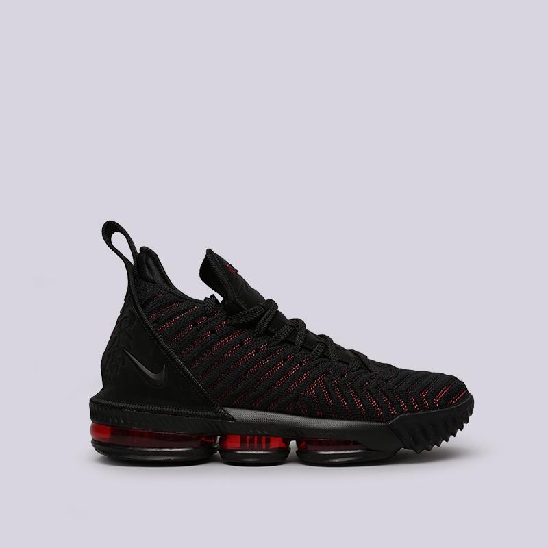 мужские чёрные  кроссовки nike lebron xvi AO2588-002 - цена, описание, фото 1
