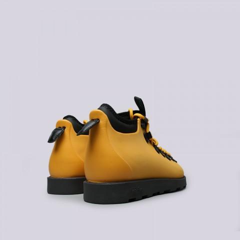 жёлтые  ботинки native fitzsimmons citylite 31106800-7539 - цена, описание, фото 3