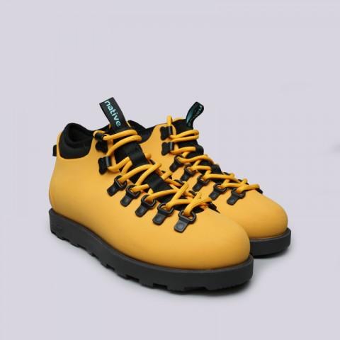 жёлтые  ботинки native fitzsimmons citylite 31106800-7539 - цена, описание, фото 2