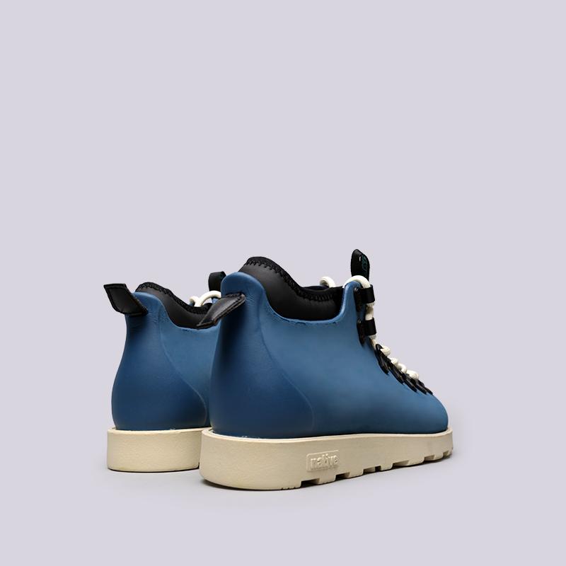 синие  ботинки native fitzsimmons citylite 31106800-4520 - цена, описание, фото 3
