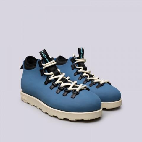 синие  ботинки native fitzsimmons citylite 31106800-4520 - цена, описание, фото 2