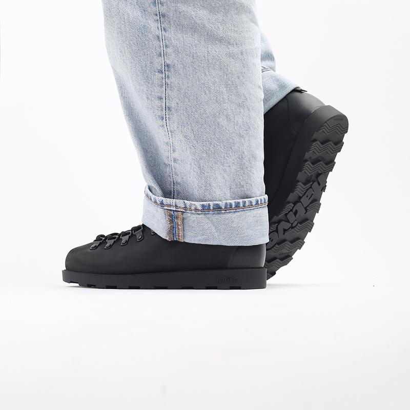 чёрные  ботинки native fitzsimmons citylite 31106800-1000 - цена, описание, фото 9