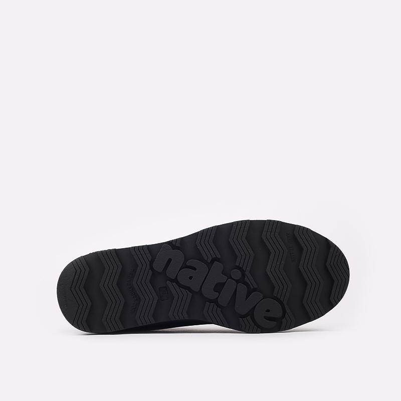чёрные  ботинки native fitzsimmons citylite 31106800-1000 - цена, описание, фото 4