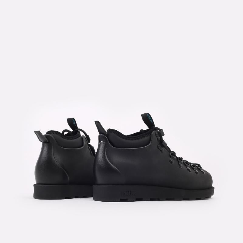чёрные  ботинки native fitzsimmons citylite 31106800-1000 - цена, описание, фото 3
