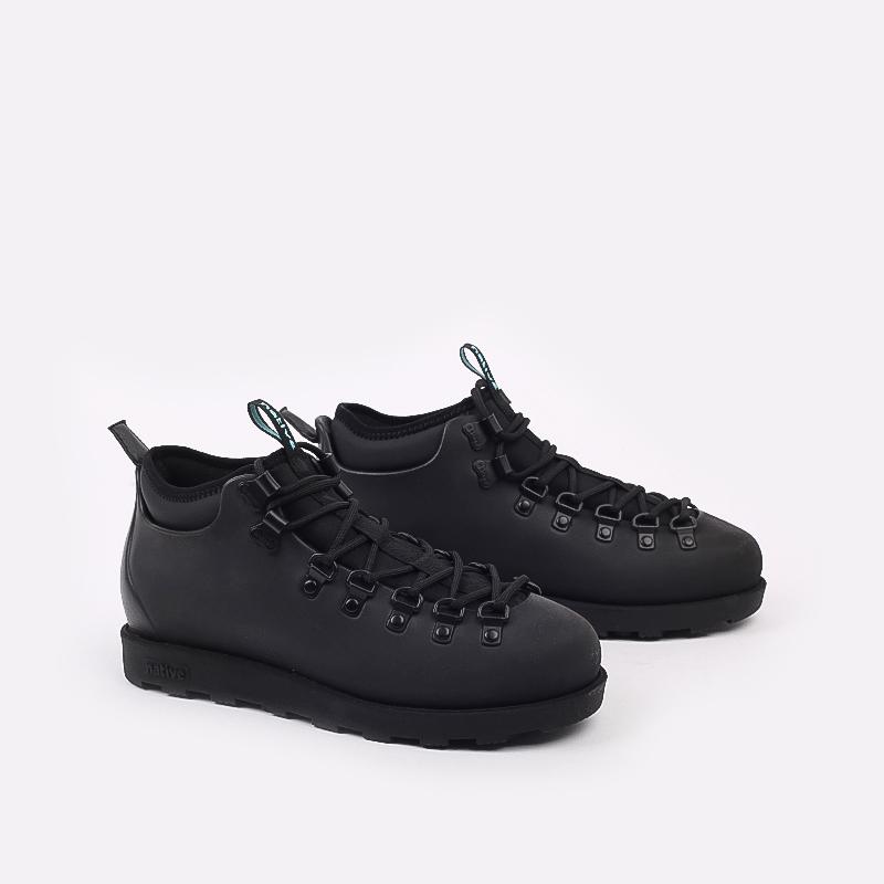 чёрные  ботинки native fitzsimmons citylite 31106800-1000 - цена, описание, фото 2