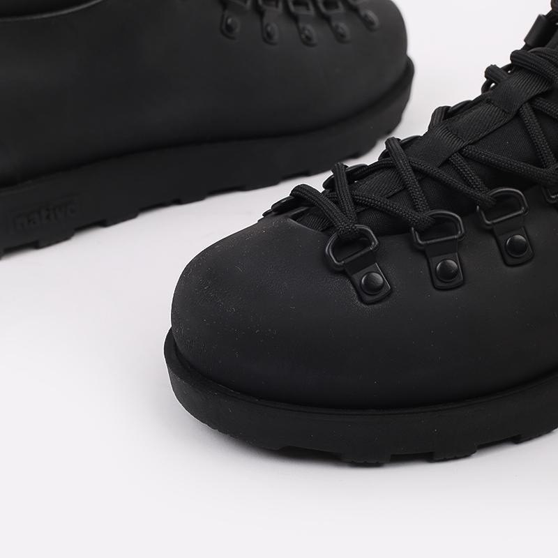 чёрные  ботинки native fitzsimmons citylite 31106800-1000 - цена, описание, фото 6