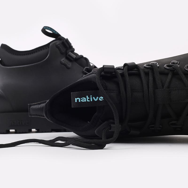 чёрные  ботинки native fitzsimmons citylite 31106800-1000 - цена, описание, фото 7