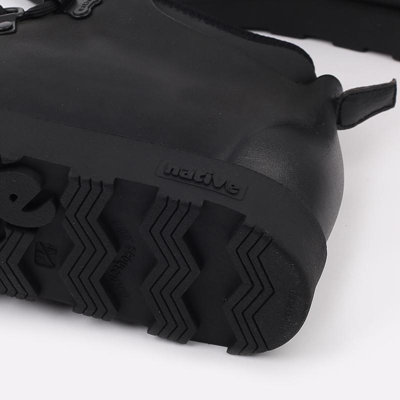 чёрные  ботинки native fitzsimmons citylite 31106800-1000 - цена, описание, фото 8