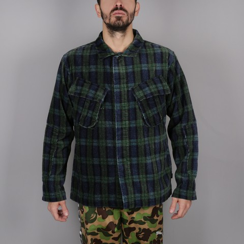 Рубашка Stussy Velveteen Jungle