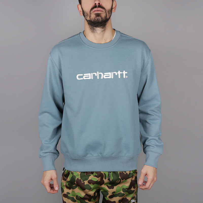 Толстовка Carhartt WIP Logo Sweat от Streetball