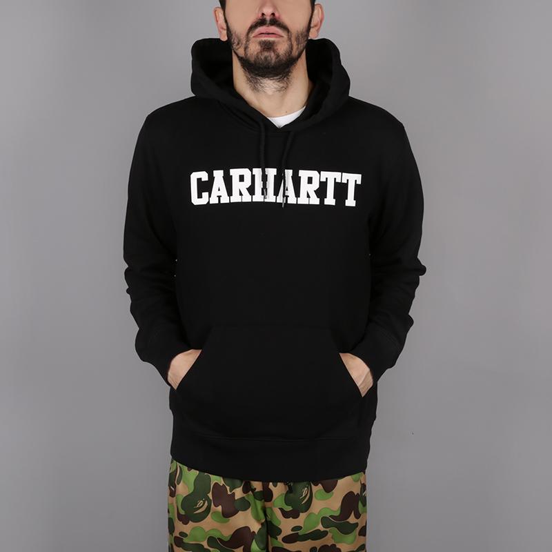 Толстовка Carhartt WIP Hooded College Sweat от Streetball