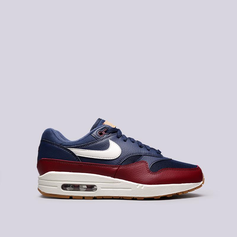edbf06b4 мужские синие кроссовки nike air max 1 AH8145-400 - цена, описание, фото
