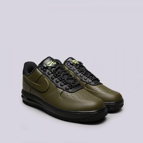 мужские зелёные  кроссовки nike lunar force 1 duckboot low AA1125-301 - цена, описание, фото 2
