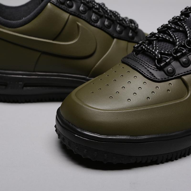 мужские зелёные  кроссовки nike lunar force 1 duckboot low AA1125-301 - цена, описание, фото 5