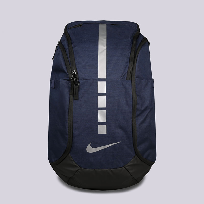 синий  рюкзак nike hoops elite pro basketball backpack 38l BA5554-410 - цена, описание, фото 1
