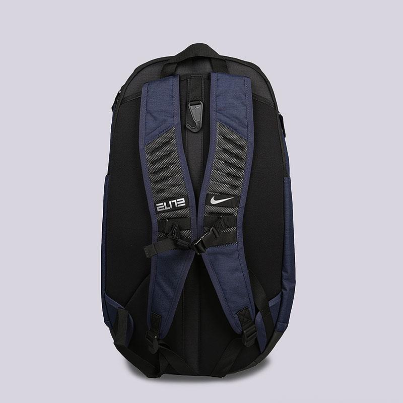 7a60866081a синий рюкзак nike hoops elite pro basketball backpack 38l BA5554-410 -  цена