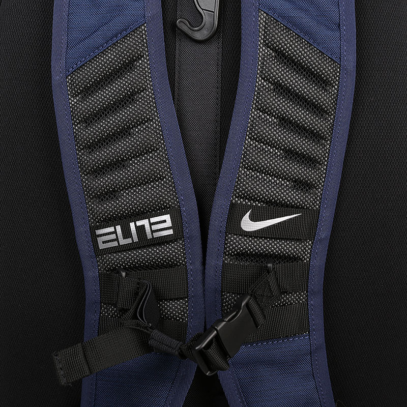 синий  рюкзак nike hoops elite pro basketball backpack 38l BA5554-410 - цена, описание, фото 5