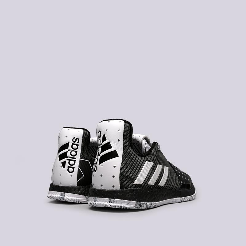 мужские чёрные  кроссовки adidas harden vol.3 BB7723 - цена, описание, фото 3