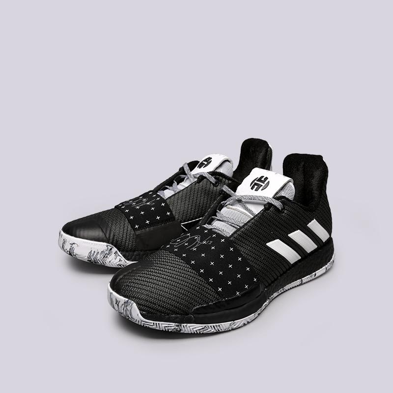 мужские чёрные  кроссовки adidas harden vol.3 BB7723 - цена, описание, фото 4