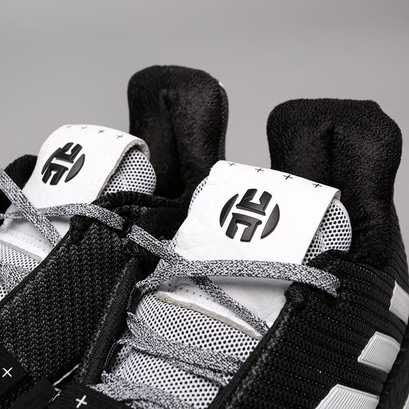 мужские чёрные  кроссовки adidas harden vol.3 BB7723 - цена, описание, фото 6