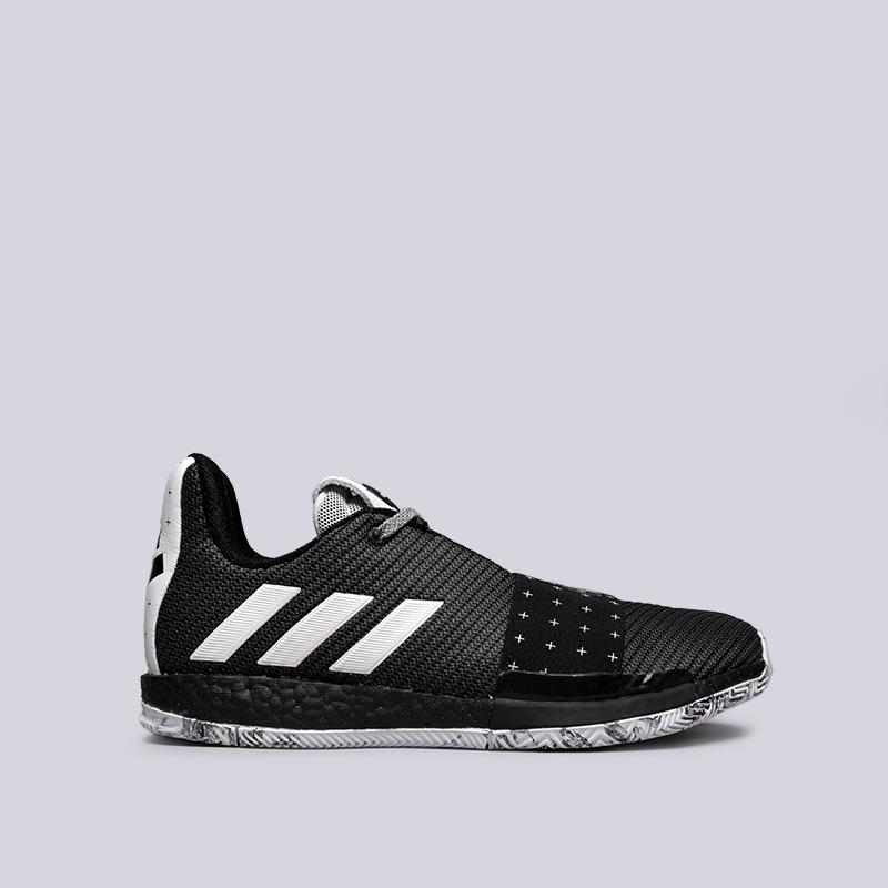 мужские чёрные  кроссовки adidas harden vol.3 BB7723 - цена, описание, фото 1