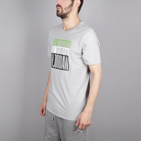 мужскую серую  футболка jordan aj3 legacy tinker tee BQ0267-019 - цена, описание, фото 3