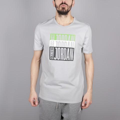 мужскую серую  футболка jordan aj3 legacy tinker tee BQ0267-019 - цена, описание, фото 1