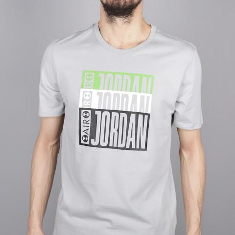 мужскую серую  футболка jordan aj3 legacy tinker tee BQ0267-019 - цена, описание, фото 2