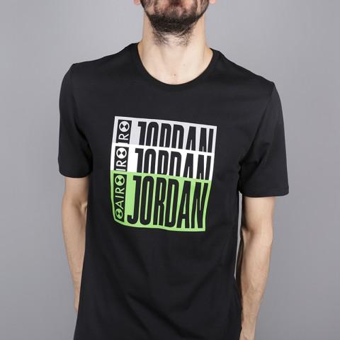 мужскую чёрную  футболка jordan aj3 legacy tinker tee BQ0267-010 - цена, описание, фото 2