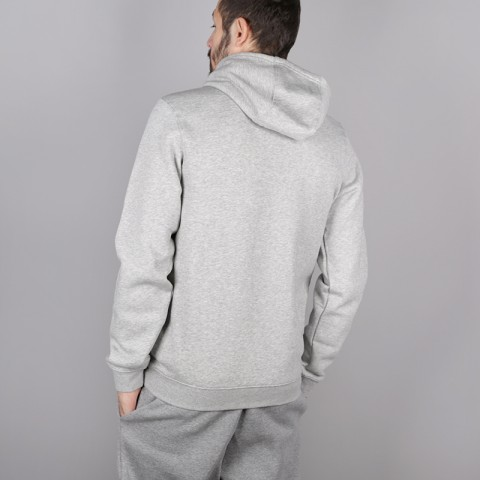 мужскую серую  толстовка nike new york knicks hoodie AA3683-063 - цена, описание, фото 4