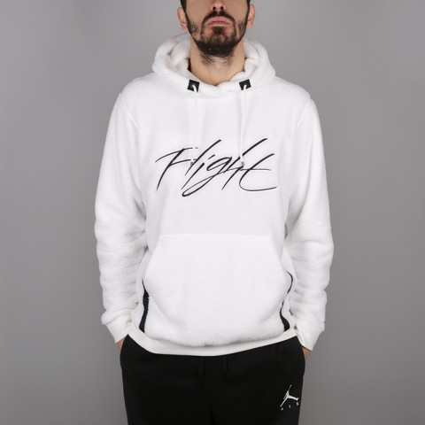 Толстовка Jordan Wings of Flight Sherpa Pullover Hoodie