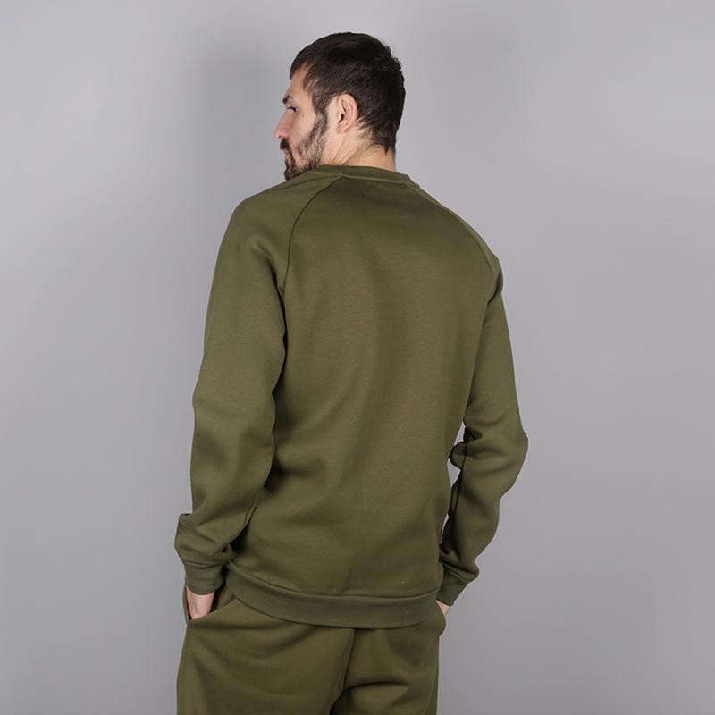 мужскую зелёную  толстовка jordan jumpman air fleece crew 940170-395 - цена, описание, фото 4