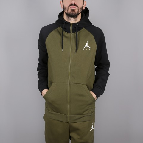 Толстовка Jordan Jumpman Fullzip Fleece