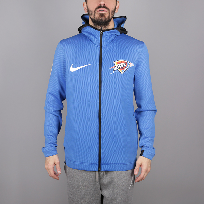 best service 0a2bb c07d5 Мужская толстовка Oklahoma City Thunder Therma Flex Showtime от Nike  (940150-403) купить по цене 4970 руб. в интернет-магазине Streetball