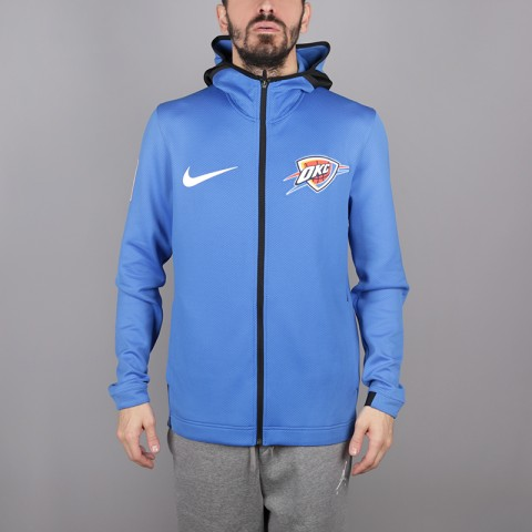 Толстовка Nike Oklahoma City Thunder Therma Flex Showtime