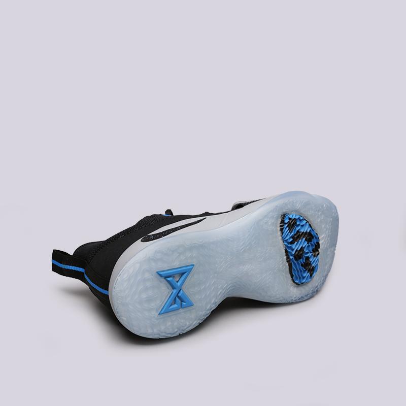 мужские чёрные  кроссовки nike pg 2.5 BQ8452-006 - цена, описание, фото 2