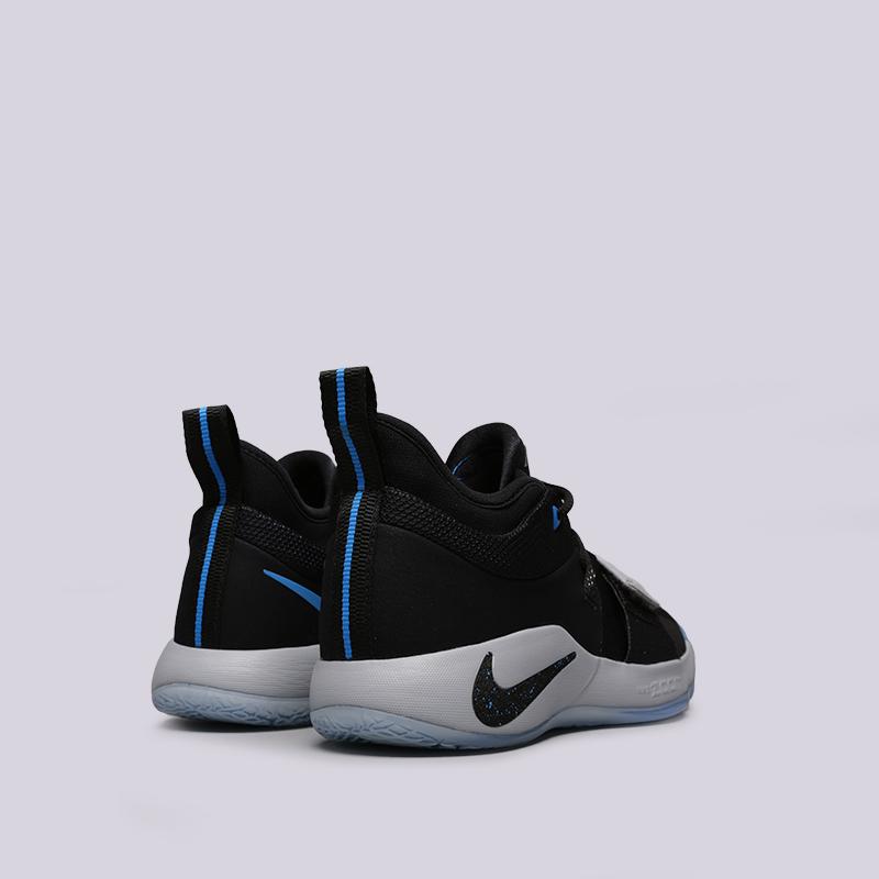 мужские чёрные  кроссовки nike pg 2.5 BQ8452-006 - цена, описание, фото 4
